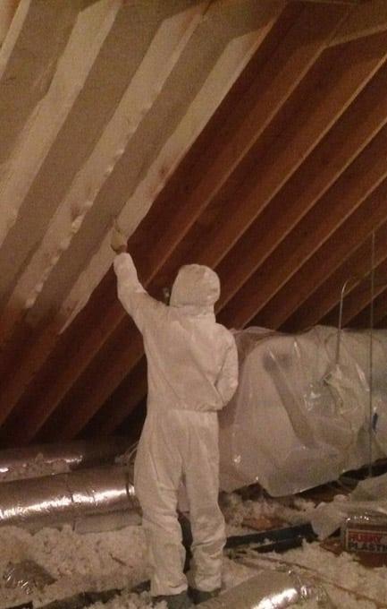 Spray Foam Insulation Service