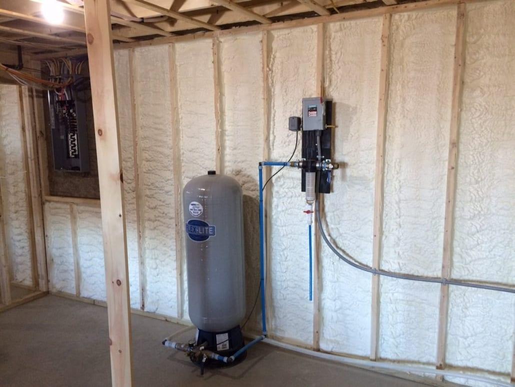 Precision Applications Spray Foam Insulation Gallery
